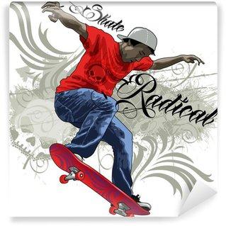 Fotomural Estándar Skate Radical