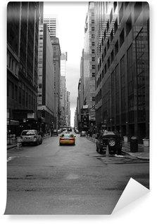 Fotomural Estándar Solitario new york taxi