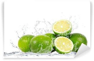 Fotomural Estándar Splash de limón