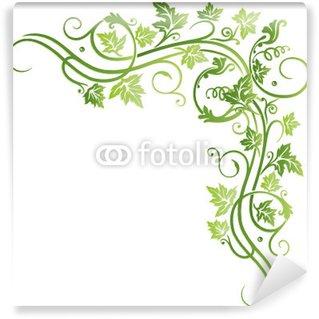 Fotomural Estándar Spring, vino, hojas de parra, hojas, hojas, vid