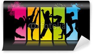 Fotomural Estándar Street Dance Backdrop