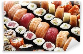 Fotomural Estándar Sushi muchos