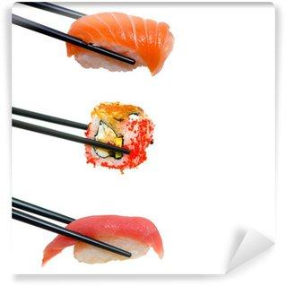 Fotomural Estándar Sushi with chopsticks