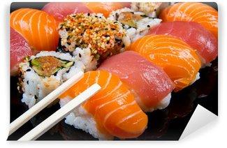 Fotomural Estándar Sushi y rollos