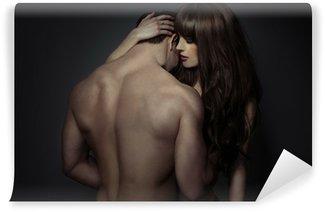 Fotomural Estándar Tender jóvenes amantes románticos