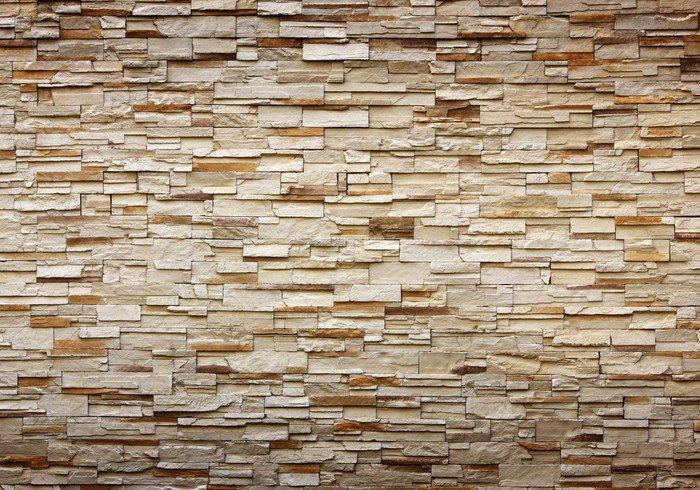 fotomural estndar textura de la pared de piedra para el fondo istaging