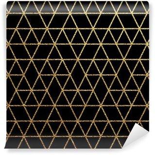 Fotomural Estándar Textura del oro para el fondo abstracto de vacaciones