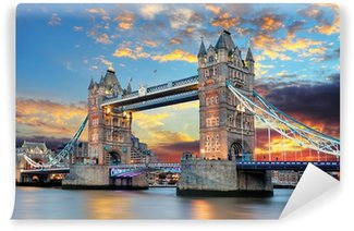 Fotomural Estándar Tower Bridge en Londres, Reino Unido
