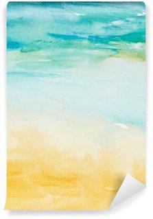Fotomural Estándar Trazos de color acuarela, arte, pintura