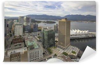 Fotomural Estándar Vancouver BC City con Stanley Park View