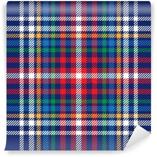 Fotomural Estándar Vector patrón de tela escocesa de tartán sin fisuras