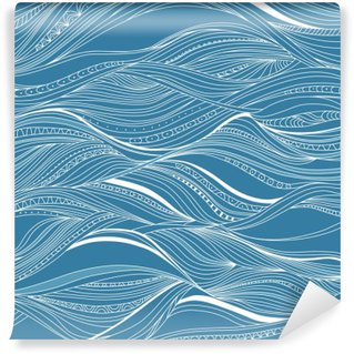 Fotomural Estándar Vector sin fisuras patrón abstracto, ondas