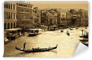 Fotomural Estándar Venecia en tonos sepia