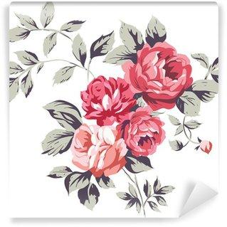 Fotomural Estándar Vintage Roses Pink