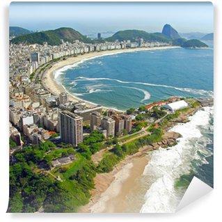 Fotomural Estándar Vista aérea de las playas de Río de Janeiro