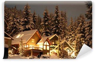 Fotomural Estándar Winter cabina