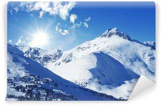 Fotomural Estándar Winter mountains