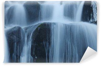 Fotomural Estándar Winter Waterfall
