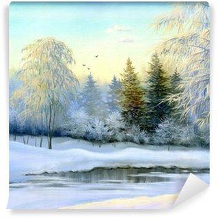 Fotomural Estándar Winter wood