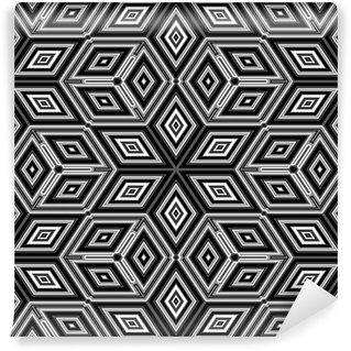 Vinyl-Fototapete 3d abstrakt Würfel ähnlich einem Escher Abbildung
