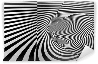 Vinyl-Fototapete 3D Zusammenfassung Spiral