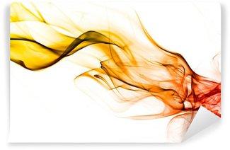 Vinyl-Fototapete Abstract smoke background texture Flamme