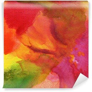 Vinyl-Fototapete Abstrakt Aquarell gezeichnet Hintergrund