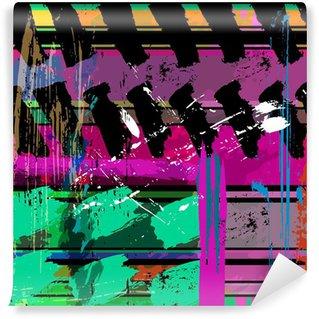 Vinyl-Fototapete Abstrakt. Vector illustration