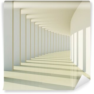 Vinyl-Fototapete Abstrakte 3D-Korridor