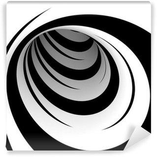 Vinyl-Fototapete Abstrakte Schwarzweiss-Entwurf