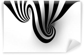 Vinyl-Fototapete Abstrakte Spirale mit leeren Raum