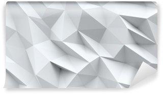 Vinyl-Fototapete Abstrakte Struktur mit Dreiecken