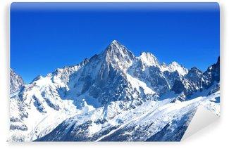 Vinyl-Fototapete Aiguille Verte - Mont Blanc (Haute-Savoie)