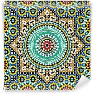 Vinyl-Fototapete Akram Marokko Muster Fünf