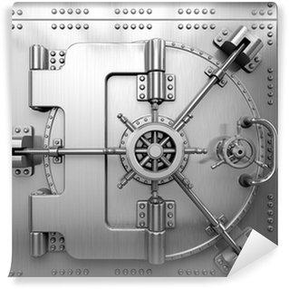 Vinyl Fototapete Bank Vault By