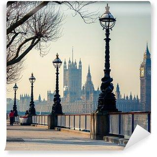 Vinyl-Fototapete Big Ben und Houses of Parliament, London