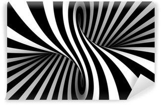 Vinyl-Fototapete Black and white abstract