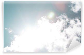 Vinyl-Fototapete Blue sky