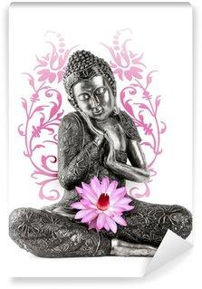 Vinyl Fototapete Buddha-Statue