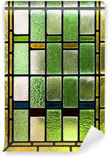 Vinyl-Fototapete Bunte Glasmalerei