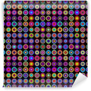 Vinyl-Fototapete Bunte psychedelische Muster