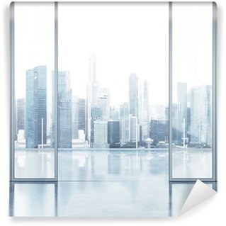 Vinyl-Fototapete Büroinnenraum mit Balkon