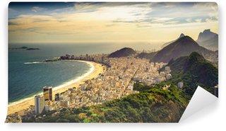 Vinyl-Fototapete Copacabana-Strand