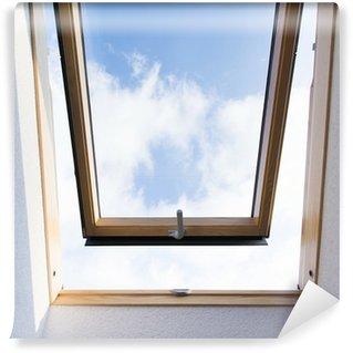 Vinyl-Fototapete Dachfenster