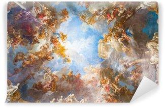 Vinyl-Fototapete Deckengemälde von Palace Versailles in der Nähe von Paris, Frankreich