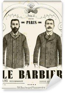 Vinyl-Fototapete Der Barbier