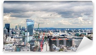 Vinyl Fototapete Die City of London Panorama