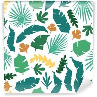 Vinyl-Fototapete Dschungel-Muster Vektor nahtlose Hintergrund