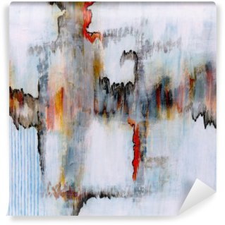 Vinyl Fototapete Eine abstrakte Malerei