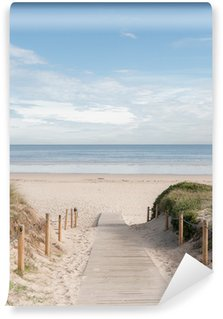 Vinyl-Fototapete Eingang zum Strand 02